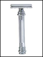 Merkur Barbers Pole double edge Razor