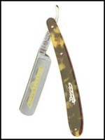 Dovo Solingen- Special Cut Throat Razor, Tortoise Shell