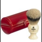 kent pure sliver tip badger shaving brush