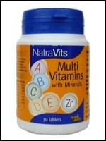 natra health multi vitamins