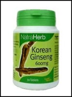 natra health korean ginseng