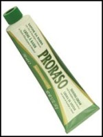 proraso shaving soap tube