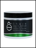 eShave Citrus Shaving Cream