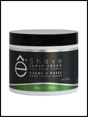 eShave White Tea Shaving Cream