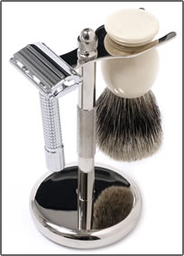 double-edge-razor-shaving