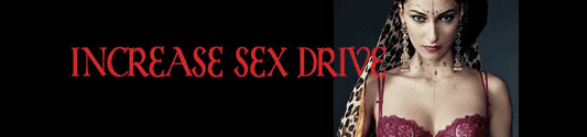 increase your sex drive
