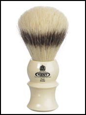 kent pure bristle badger effect shaving brush
