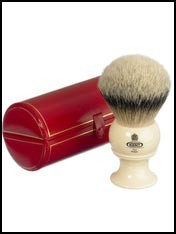 kent pure silver tip badger hair shaving brush