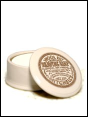 Mitchel's wool fat shaving soap and mug
